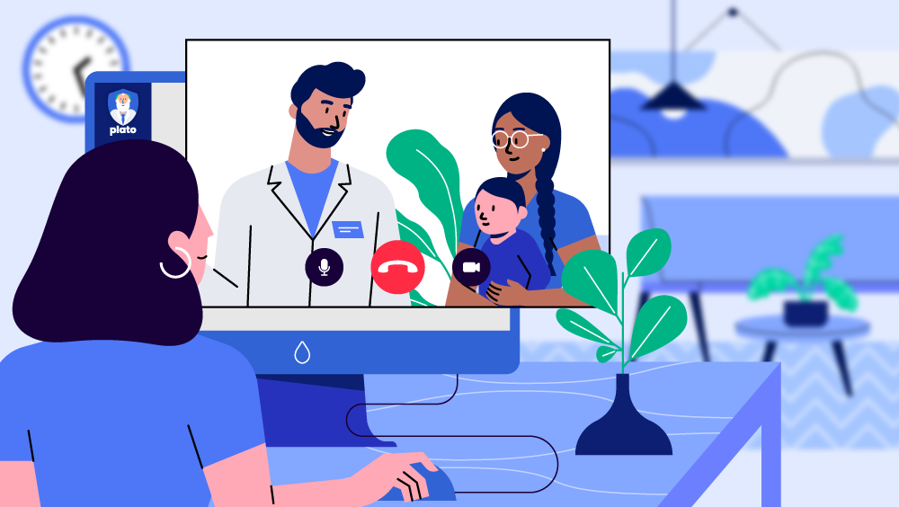 Virtual care, and more, with Plato