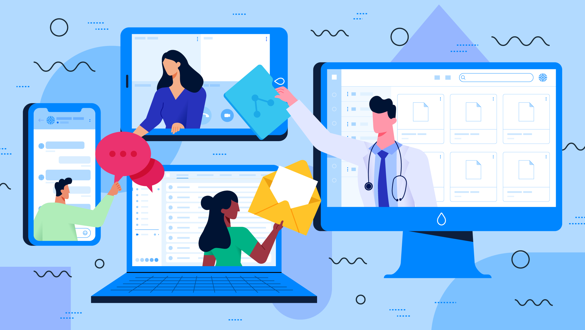 Working Remotely: Must-Have Digital Tools  For Doctors and Clinic Teams